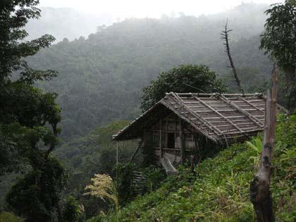 خانه ای روی تپه